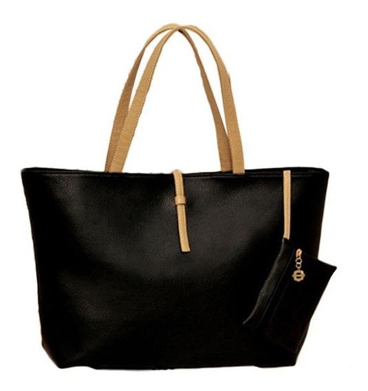 Bolsa Feminina Ombro, Saco, Fashion Handbag Lady, Couro Ecol