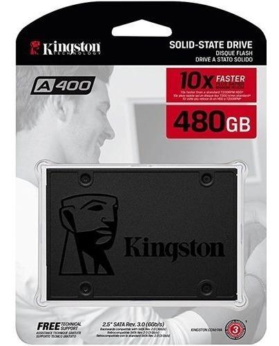 Ssd Kingston 480gb Sa400s37 500-450mb/s Rápido Original