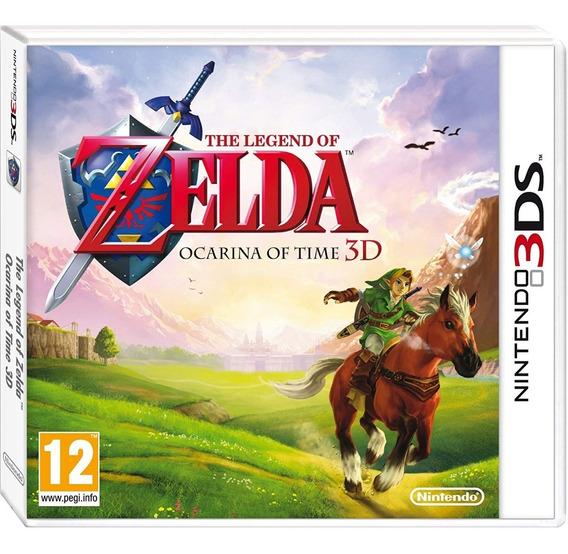 The Legend Of Zelda Ocarina Of Time 3d (seminovo)