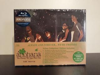 Anohana La Pelicula Edicion Coleccionista Blu Ray + Dvd + Cd