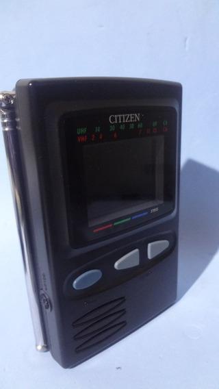 Mini Tv Citizen - St 055 Lcd De 2,2 - Colorida - Analógico