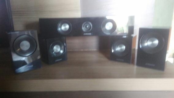 Caixas De Som Home Theater Samsung Ht-c460 E Cabos