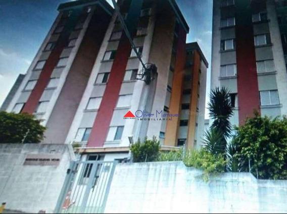 Apartamento Para Alugar, 50 M² Por R$ 700,00/mês - Jardim Roberto - Osasco/sp - Ap6760