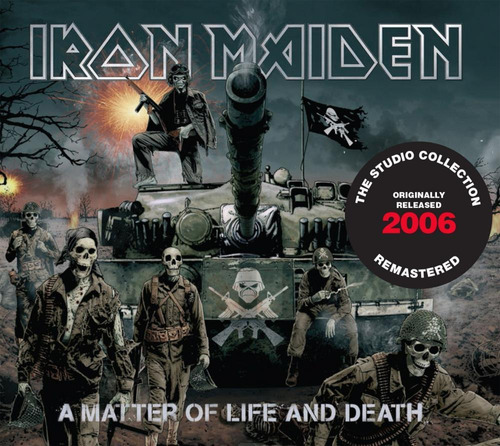 Cd Iron Maiden A Matter Of Life And Death (2006) Remastered