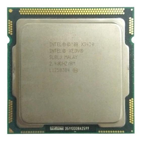 Intel Xeon X3430 8 M Cache Quad Core 2.40 Ghz 95 W Lga1156