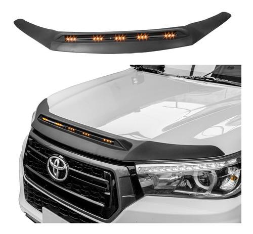 Imagen 1 de 7 de Vista Con Luz Led Cofre Toyota Hilux Revo Hood Abs