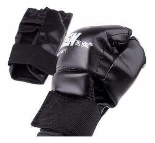 Par Luvas Artes Marciais Mma Muay Thai Karate Boxe Luta