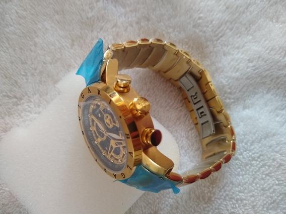 Relógio Masculino Bvgari Dourado