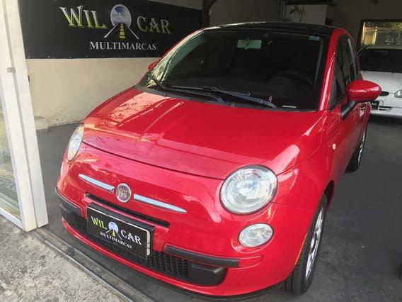 Fiat 500 Cult 1.4 Mec. Evo 8v (flex) 2012 Super Oportun