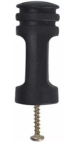 Isolador Para Haste De Cerca Elétrica, Pacote Com 50 Peças
