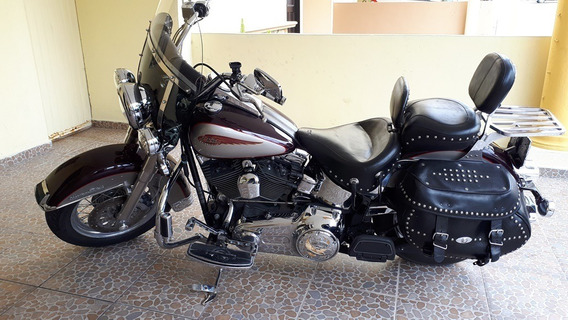 Harley Heritage Softail Classic 2007 Flstc En Excelente Cond