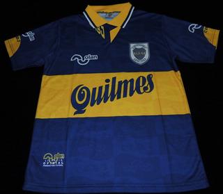 Camisa Boca Juniors Home 1996 #10 Maradona