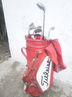 Bolsa Y 13 Palos De Golf Dunlop Linex