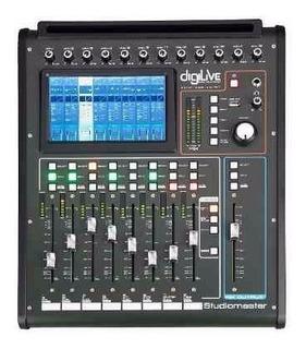 Studiomaster Digilive 16 Consola Mezcladora Profesional Lcd