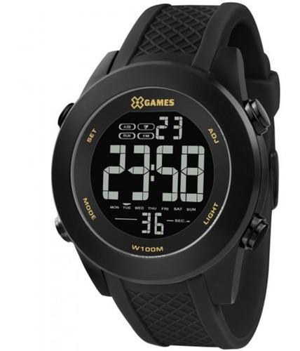 Relógio X Games Masculino Xmnpd001 Pxpx Preto Lançamento