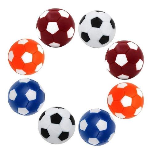 Pelotas Para Futbolito De Colores 14 Bolas Diseño De Balon