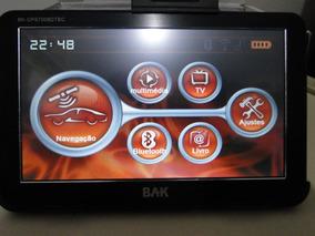 Gps-tv Digital Bak Bk-gps7008dtb Em Perfeito Estado De Func.