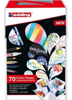 Marcadores Edding Set Happy 69+1