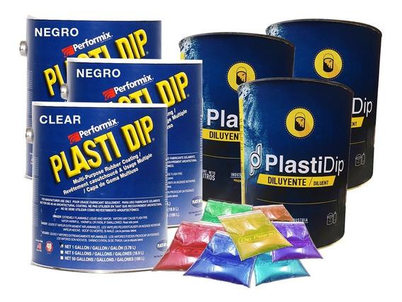 Pintura Removible Plasti Dip Pintar Auto Medio Color Perlado