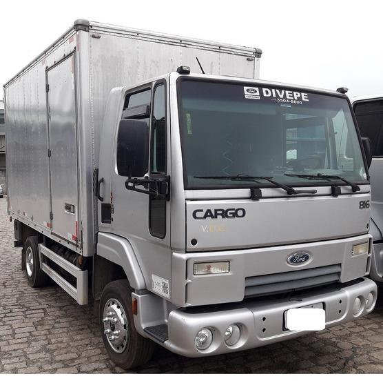 Ford Cargo 816 Bau 4,2m - Baixo Km - Unico Dono - Novo
