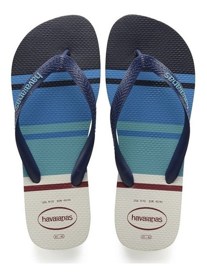 Sandalia Chinelo Top Nautical - Havaianas - Branco