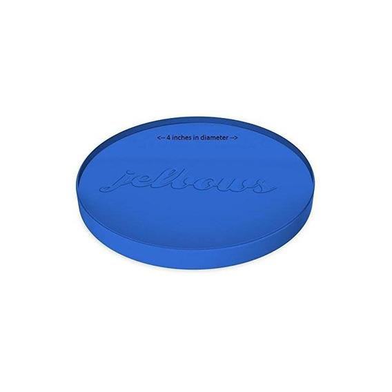 Jelbows Small Blue Ergonomic Gel Wrist Rest Arm Elbow Pad
