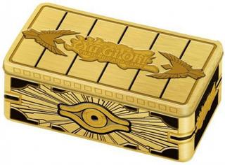 Lata Gold Sarcophagus Tin 2019 Yugioh Nuevas Cartas Konami F