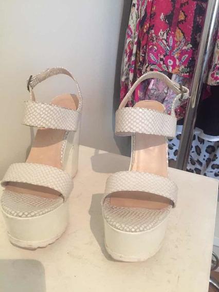 Sandalias Última Moda Ecocuero Graneado