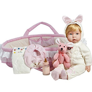 Paradise Galleries Real Life Reborn Baby Doll Molly Y Fluffy