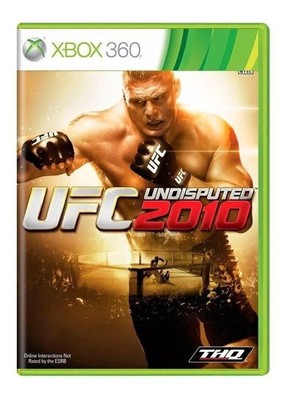 Ufc Undisputed 2010 Xbox 360 Mídia Física Pronta Entrega