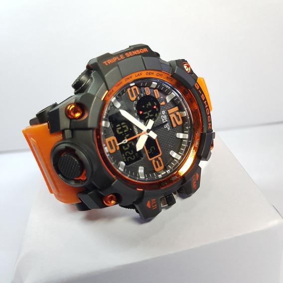 Relógio Masculino G-shock Digital Luxo C/ Caixa