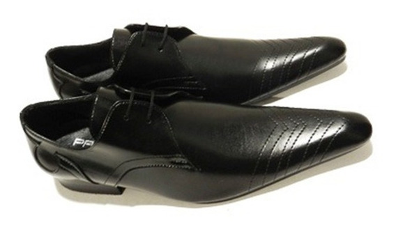 Zapatos Acordonados Estileto Gales No. 2418