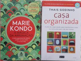 A Mágica Da Arrumação + Casa Organizada Kit 2 Livros