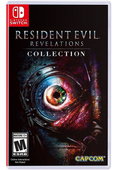 Resident Evil: Revelations Collection Switch Mídia Física