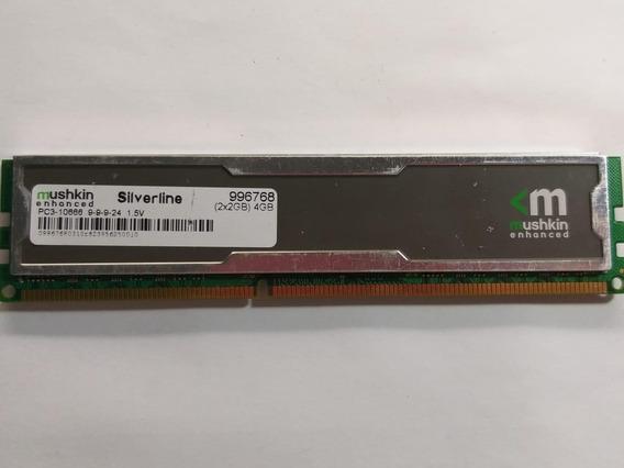 Memória Ddr3 Mushkin Silverline 2gb (1x2gb) 10666mhz