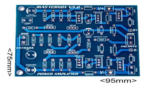 Placa Para Montar Amplificador 2000w Rms 2sc5200/2sa1943