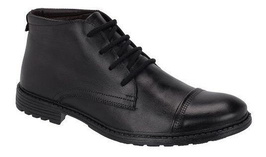 Sapato Coturn Masculino Oxford 100 % Couro Legítimo Italiano