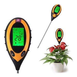 Medidor Digital Ph Suelo Humedad Luz Y Temperatura 4 En 1