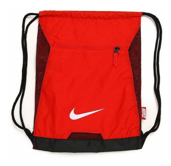 Bolso Manos Libres Gris Negro Naranja Nike Air Max Smit