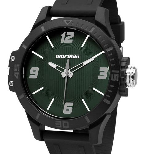 Relógio Mormaii Masculino Analogico Fundo Verde Mo2035fl/8v