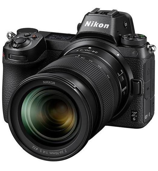 Nikon Z 6 24-70 Kit 24.5mp 3.2 Wi-fi/bluetooth + Nikkor Z