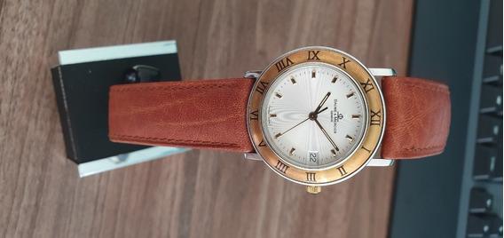 Relógio Suíço Baume Et Mercier Transpacific Ouro Masculino
