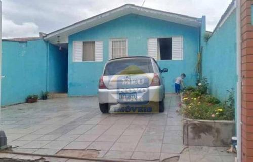 Casa Com 3 Dormitórios À Venda, 84 M² Por R$ 170.000,00 - Campina Da Barra - Araucária/pr - Ca0455