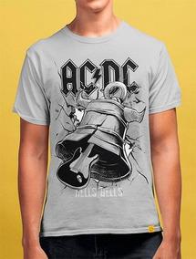 41ad8997eb Camiseta Masculina Banda Ac Dc Hells Bells