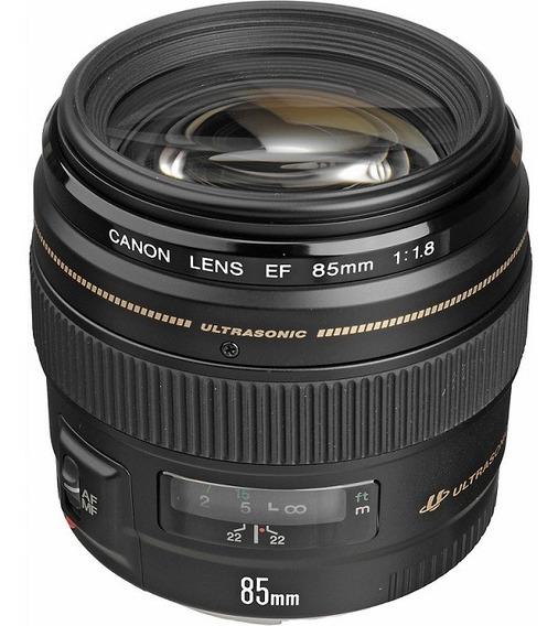 Lente Canon Ef 85mm F/1.8 Usm Nota Fiscal
