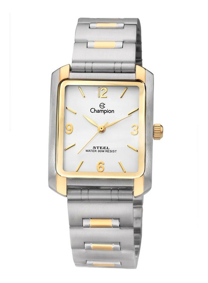 Relógio Champion Quadrado Social Feminino 3 Atm Ca20134b