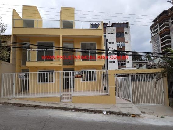 Centro/n.iguaçu, Triplex 2 Quartos(1 Sacada), Sala, Cozinha, 2 Banheiros, Terraço E Garagem. - Ca00650 - 34581672