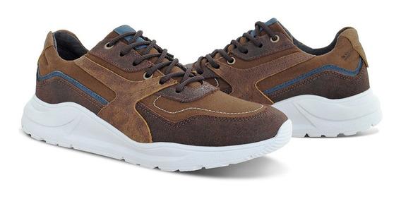 Kit 2 Pares Tênis Casual Couro Tchwm Shoes Preço Atacado