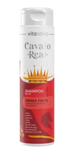 Shampoo Sem Sal Cavalo Real 300ml Lançamento Vs