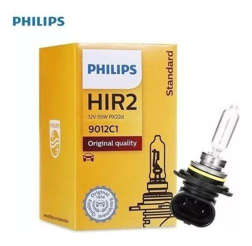 2x Lampada Philips Hir2 12v 55w Aircross Ix35 Edge 9012 *